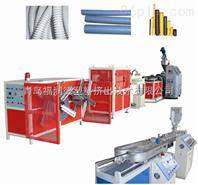PE PP&PVC单壁波纹管生产线