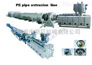 110PE管材擠出生產線
