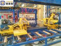 全自动智能双牵引机铝型材加工生产线设备之一